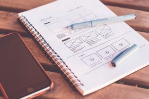 Designing a mobile app from scratch
